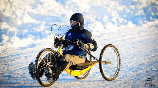 Paraplegic Athlete Beth Sanden Completes 42km North Pole Marathon