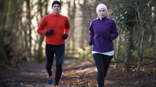 The Secret To Layering For Winter Runs