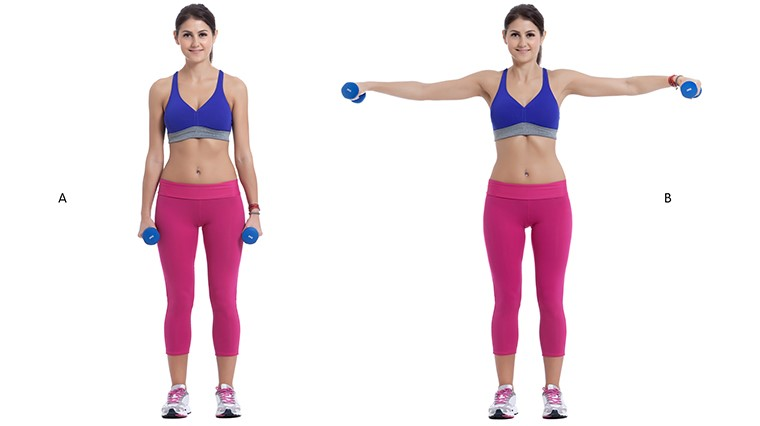 4 Simple Dumbbell Exercises You Can Do At Home | Sportitude