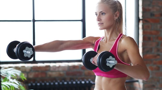 4 Simple Dumbbell Exercises You Can Do At Home